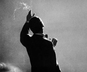 frank sinatra, black and white, and vintage image