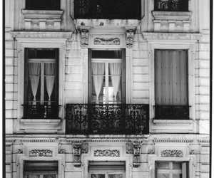 balcony, black and white, and b&w image