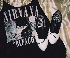 nirvana, shoes, and bleach image