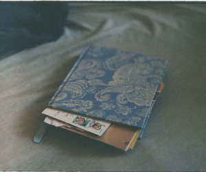 vintage, book, and diary image