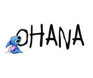 ohana, stitch, and disney image