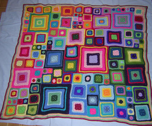 afghan, blanket, and craft image