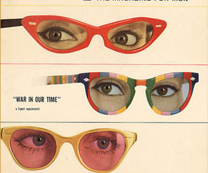 esquire, vintage, and glasses image