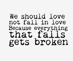 love, broken, and fall in love image