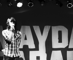 mayday parade, music, and black and white image