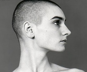 bald, sinead o'connor, and girl image