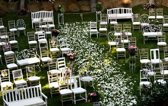Unconventional Ceremony Seating Modern Weddings Hawaii Destination