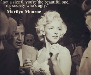 Marilyn Monroe and thick image