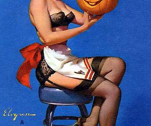 Halloween and 50s image