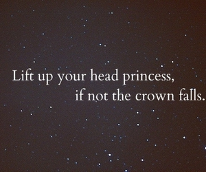 princess, crown, and quotes image