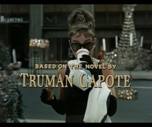 Breakfast at Tiffany's and vintage image