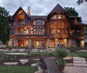 beautiful, house, and pretty image