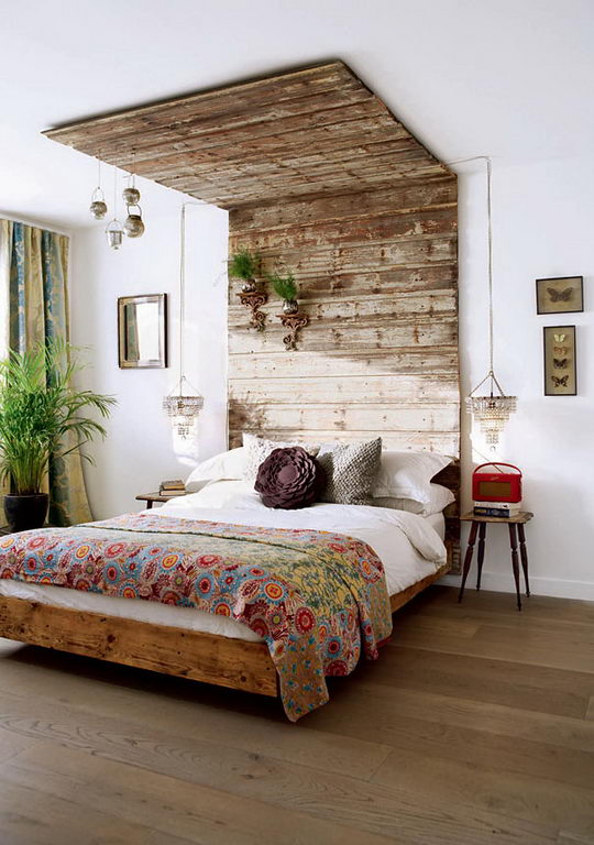 wood, cool, and bed image