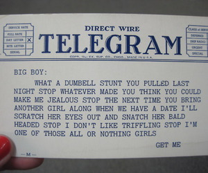 awesome, telegram, and vintage image