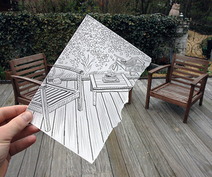 art, drawing, and photography image