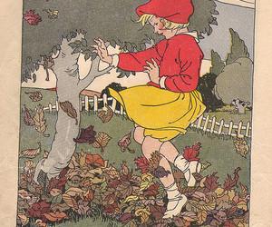 art, autumn, and elf image