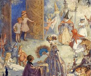 art, illustration, and fairytale image