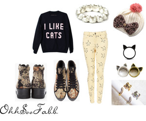 boots, bows, and cats image