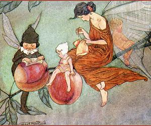 art, fairy, and illustration image