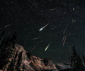 beautiful, meteor shower, and stars image