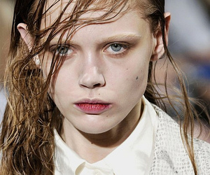 fashion, model, and frida gustavsson image