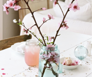 flowers, photo, and shabby chic image