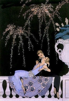 1925, black, and fashion illustration image