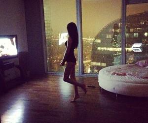 girl, night, and sexy image