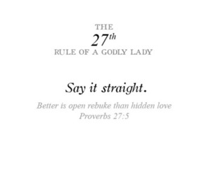 rules of a godly lady image