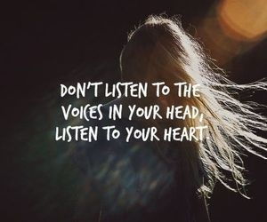 heart, quote, and text image