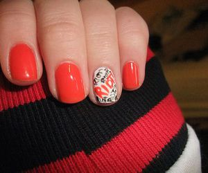nails, paramore, and red image