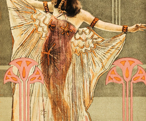 beauty, cleopatra, and theda bara image