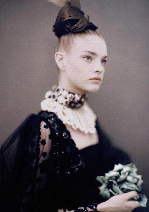 fashion and Natalia Vodianova image