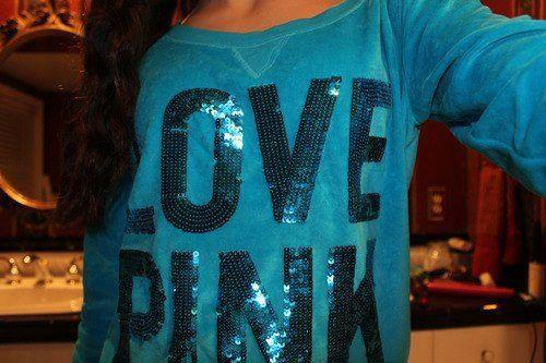 blue, love pink, and beauty image