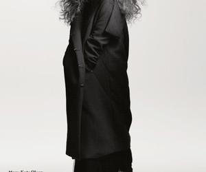 black and white, Calvin Klein, and dark image