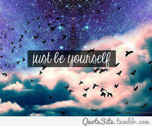 quotes, yourself, and bird image