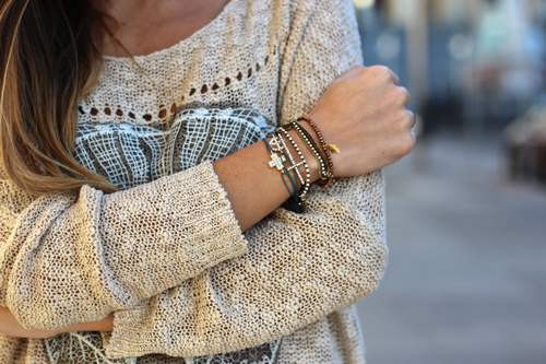 fashion, style, and bracelet image