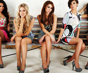 the saturdays and spice girls image
