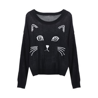 accessory, cat, and clothing image