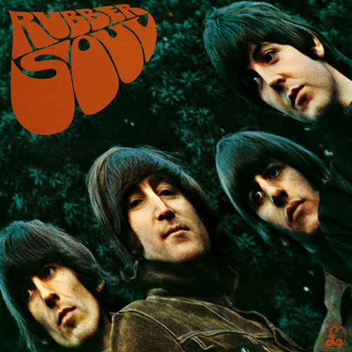 the beatles, rubber soul, and music image