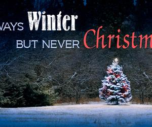 christmas, narnia, and winter image