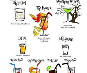 drink, harry potter, and alcohol image