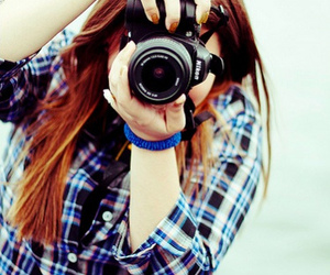 nikon and girl image