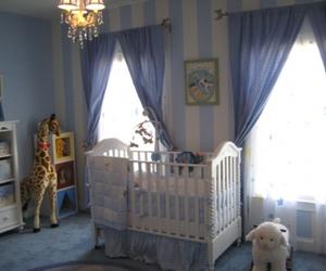 baby, crib, and nursery image