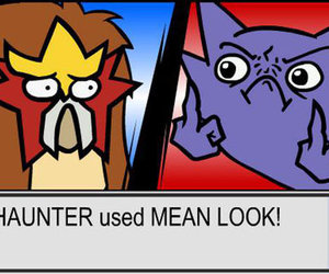 attack, haunter, and right for entei image
