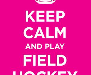 hockey, field hockey, and i love hockey image
