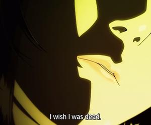 anime, text, and mardock scramble image
