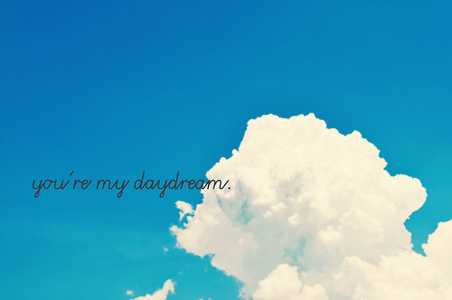 sky and text image