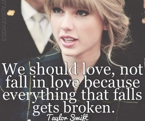 broken, fall, and quotes image