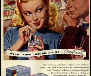 cosmetics, Seventeen, and vintage image